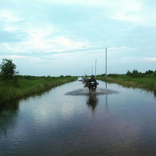 Akibat Banjir Pembangunan Jalan Sepucuk Terhambat