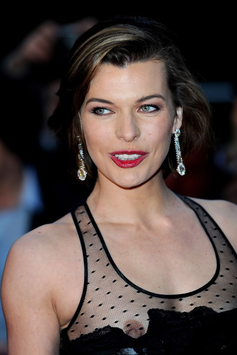 Milla Jovovich – How to Give a Blowjob Like a Pro