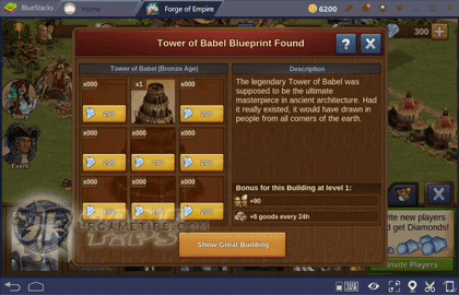 Forge of Empires Contribute and Build Great Buildings