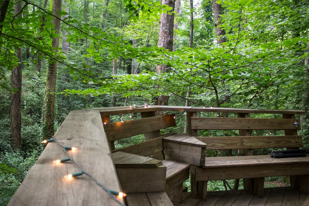 Tiny House Town Atlanta Airbnb Treehouse