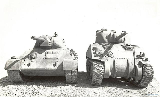 Soviet T-34 Sherman M4A2 worldwartwo.filminspector.com