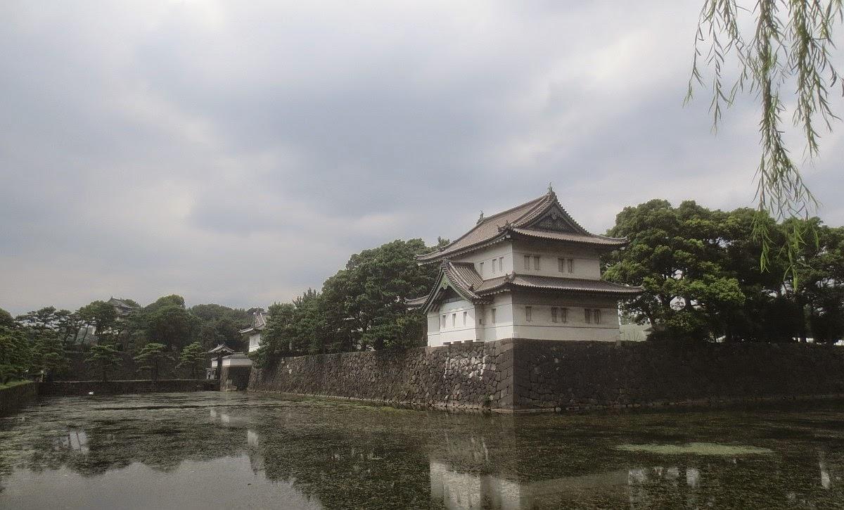 Tokio - Park am Kaiserpalast