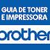 Guia de toner e impressoras - Brother