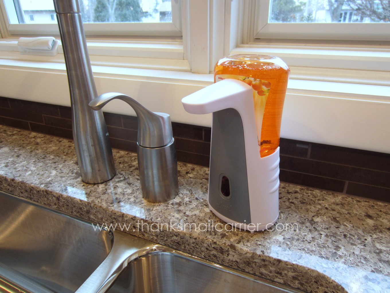 Thanks Mail Carrier Lysol No Touch Kitchen System Review