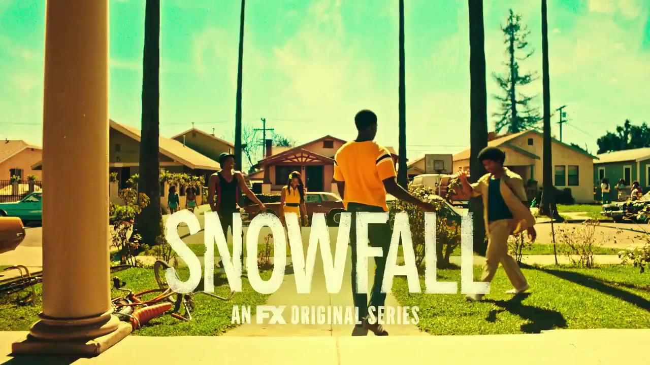 Poster promocional de Snowfall