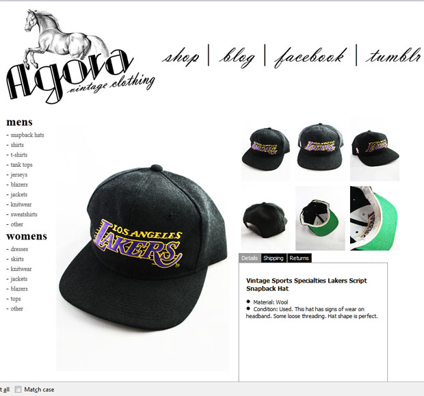 lakers script snapback Archives - Agora Clothing Blog 10dda024258