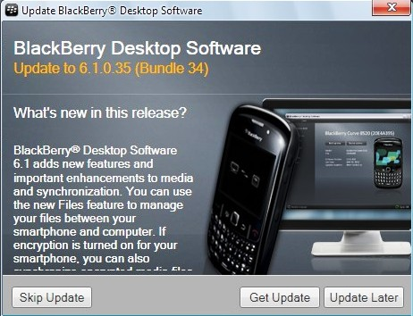 FaceBerry CoOL: BlackBerry Desktop Manager For PC Updated To