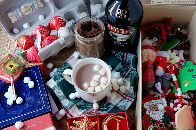 Give the gift of hot cocoa to the entire family with this allergen-friendly mix. Add a bottle of the spike of your choice so that the entire family can enjoy a treat.
