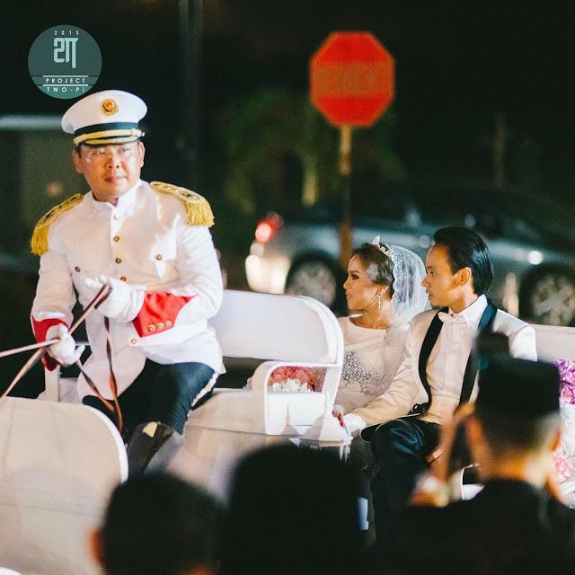 Foto Menarik Sekitar Majlis Resepsi Jihan Muse dan Ungku Hariz