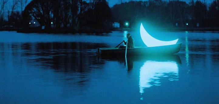 Resultado de imagem para luna menguante