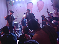 Suasana Battle Beatbox di Lampung Fair 2019