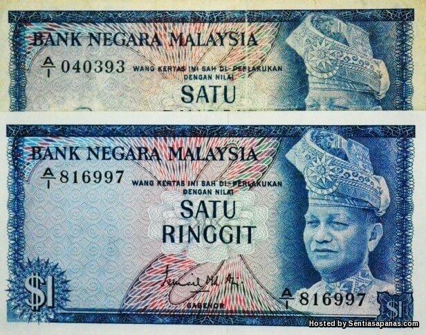Sejarah Ringgit Malaysia