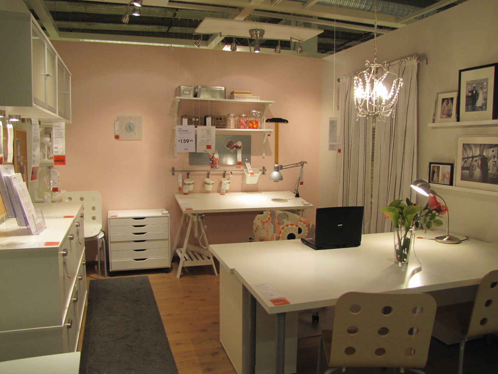 Sewing Room Designs: The Experienced Novice: Sewing Room Of My Dreams: IKEA Style