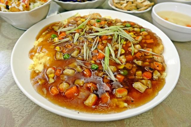 深耕圓素食~基隆素食熱炒