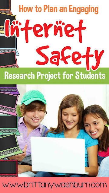 For the past 3 school years I have done a unit with my 5th grade students that assesses their knowledge of Internet Safety while also incorporating standards for research, presentation, and working together.