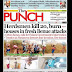 NIGERIA NEWSPAPERS: TODAY'S THE PUNCH NEWSPAPER HEADLINES [3RD JANUARY, 2018].