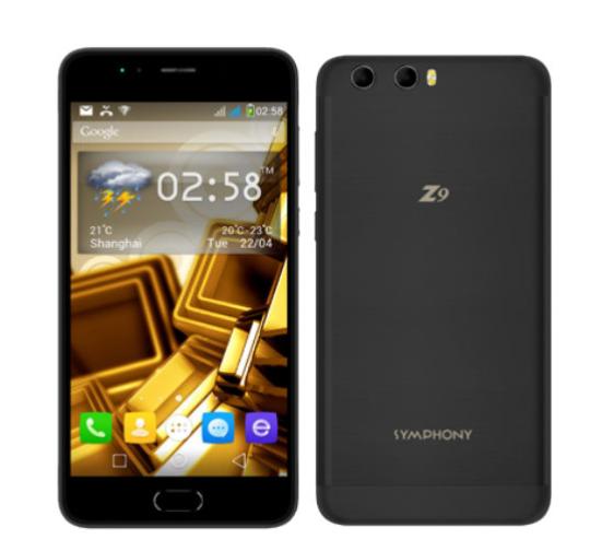 Symphony Z9 | Symphony Z9 Smartphone Specs & Price