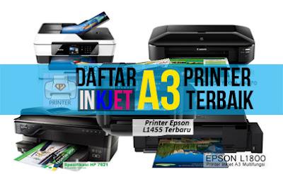 Harga Printer Inkjet A3 Murah