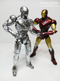 S.H.Figuarts Iron Man Mk II + Hall of Armor - Tamashii Nations