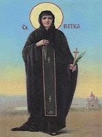 Sfânta Parascheva este Sfânta Vineri?
