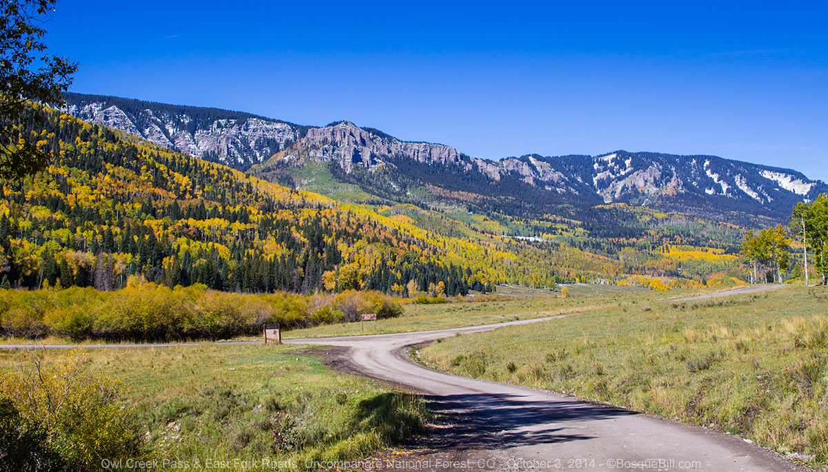 Bosque bill 39 s backroads in search of autumn color colorado for Owl creek