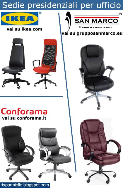 Risparmiello sedie per ufficio ikea e conforama - Ikea sedie per ufficio ...
