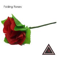 Alat sulap Folding roses