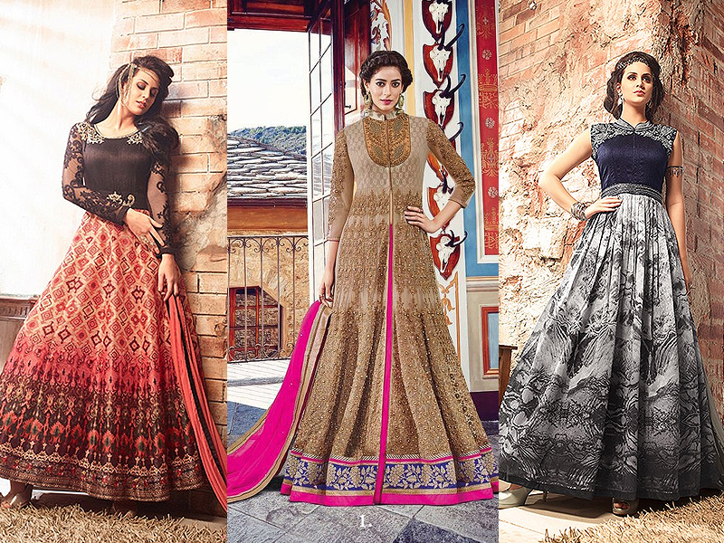 Buying designer ethnic Indian wear online - Like A Diva