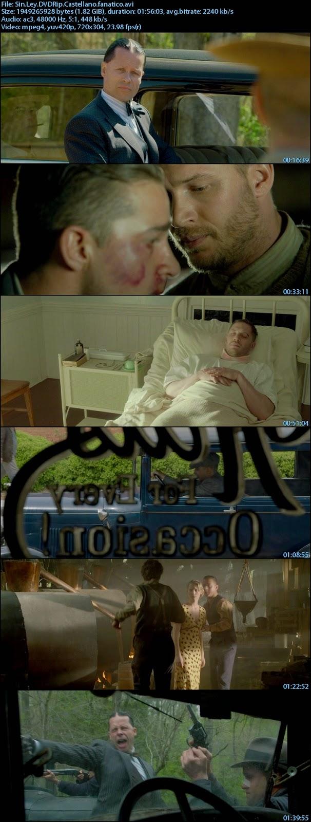 SinLeyDVDRipCastellanofanatico s - Sin ley (Lawless) (2012) [DVDRip XviD][Castellano AC3 5.1][Thriller. Drama]