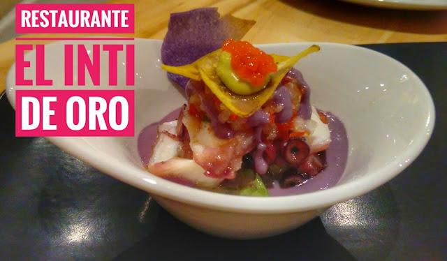 Comer en el restaurante El Inti de Oro (Madrid