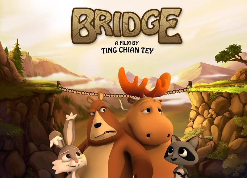 Bridge, el Puente, un reflexivo corto animado.