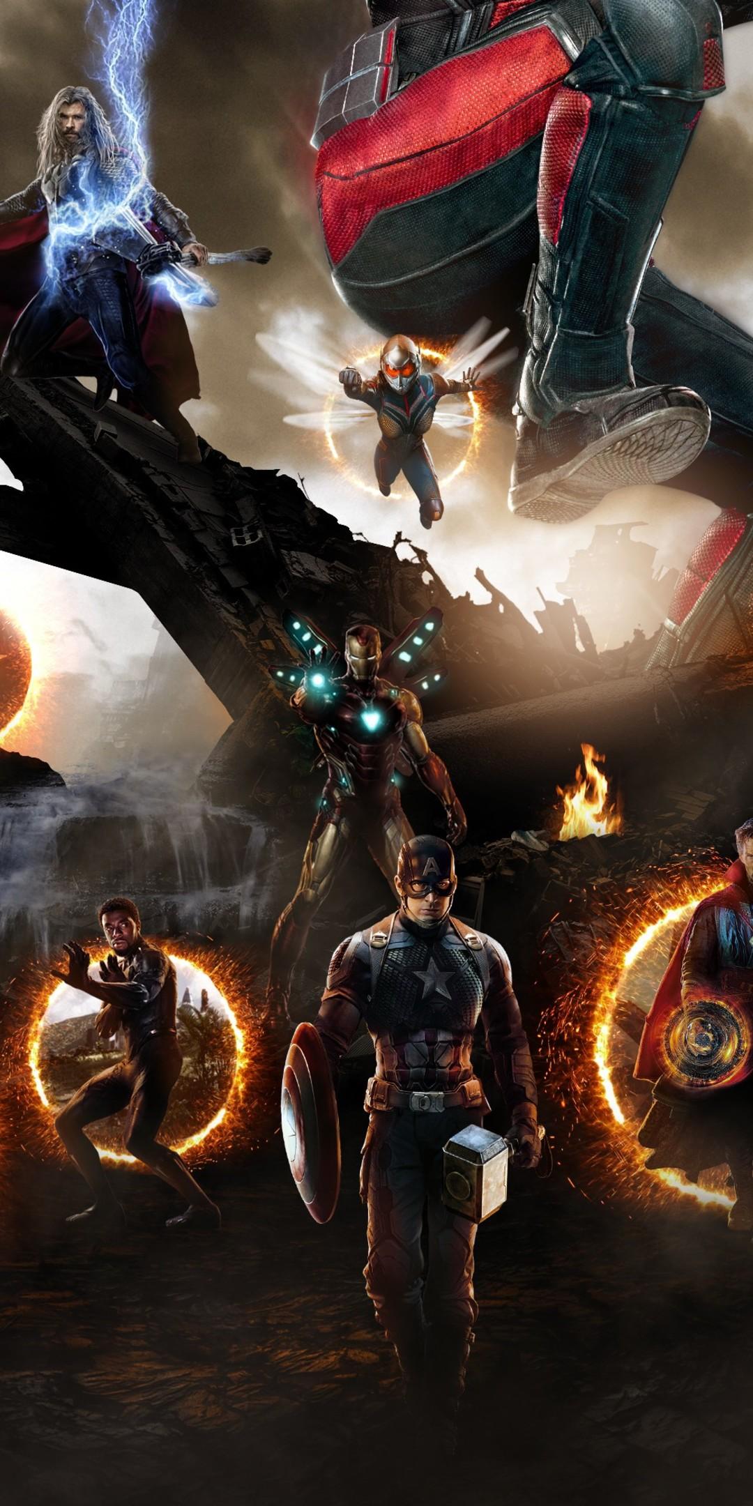 Avengers Endgame Final Battle