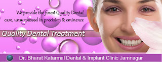 we provide the finest quality dental care at Dr. Bharat Katarmal dental and implant clinic at Jamnagar