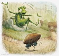 Resultado de imagen de la cigarra y la hormiga