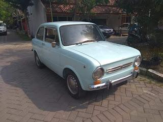 Dijual Mobil Antik Fiat 850 Coupe 1970