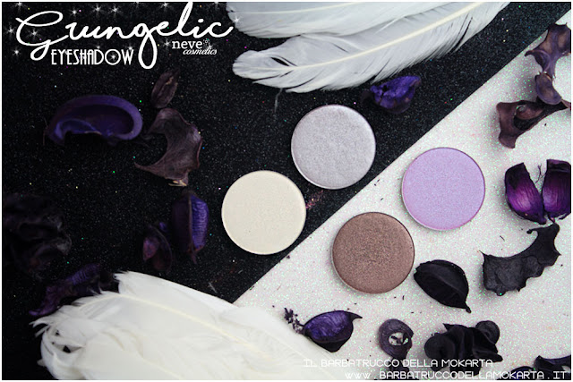 eyeshadow ombretti Neve cosmetics  recensione, pareri, makeup, consigli, comparazioni
