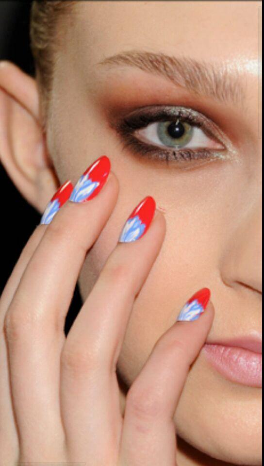 como decorar uñas sencillas y bonitas