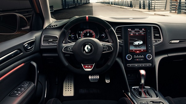 Interior Renault Megane RS