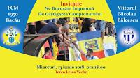 FCM 1950 Bacau - ACS Viitorul Nicolae Balcescu