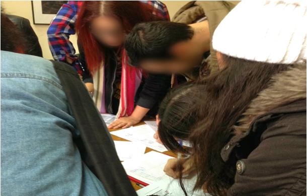 Το απόλυτο χάος κατά τη διάρκεια εγγραφής μαθημάτων στο ΤΕΙ Αθηνών - Φωτό