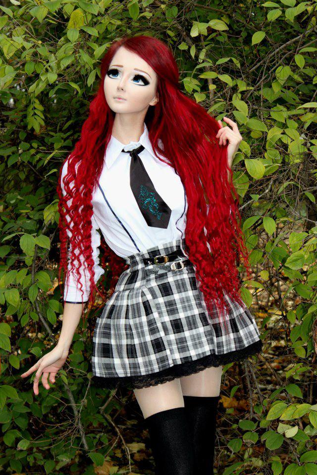 Weird Funnies: Real Life Anime Girl: Anastasiya Shpagina