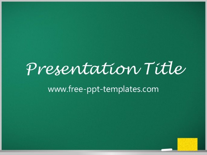 blackboard ppt template, Modern powerpoint