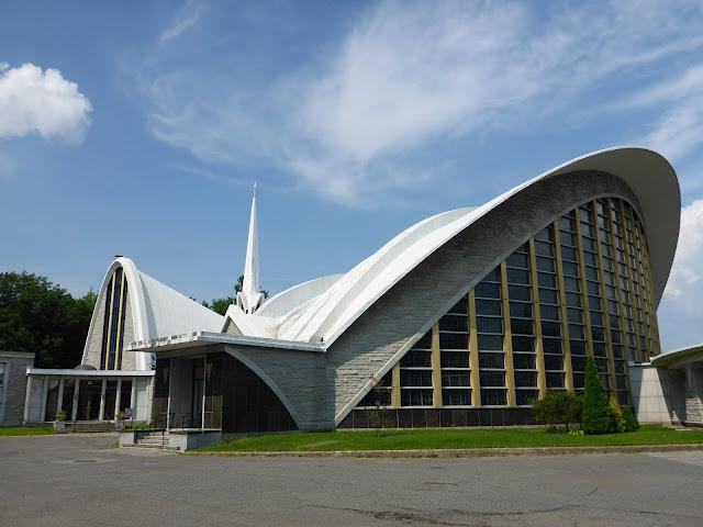 Cathédrale de Nicolet Québec extérieur