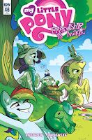 "MLP IDW Friendship is Magic #46 Comic Retailer Incentive Cover by Caytlin ""Pixel Prism"" Vilbrandt"