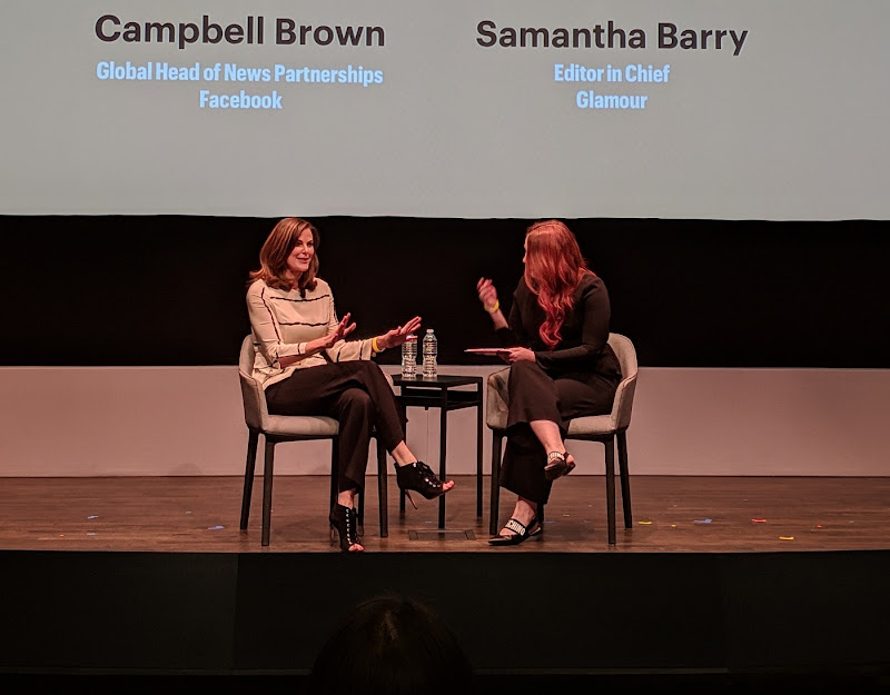 "On the future of video, ""know your audience,"" says Campbell Brown. Not all successful shows are highly produced. Lengths vary. ""Urgency of the moment seems to be resonating."""