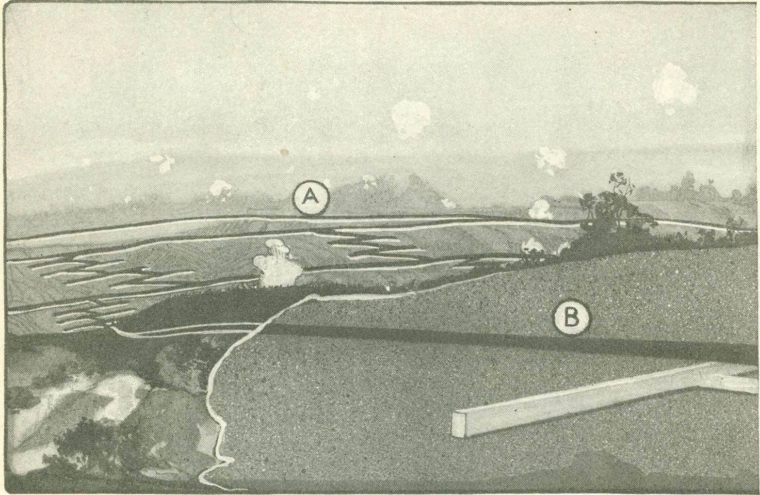 Ww1 Trench System Diagram Lucas Wiper Motor Wiring Digital History Project Warfare In World War I