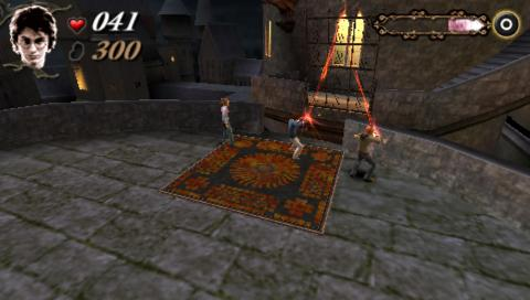 harry potter caliz de fuego psp