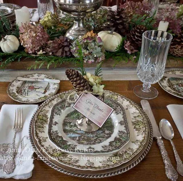 Thanksgiving Table Settings Pinterest: Far Above Rubies: Thanksgiving Table Inspiration