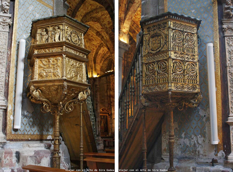 Catedral Ávila púlpitos
