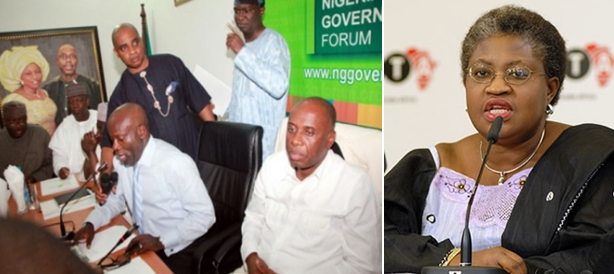 nigerian governors forum finance minister